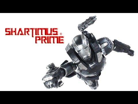 Hot Toys War Machine Mark 3 Captain America Civil War Marvel Movie Don Cheadle Figure Review