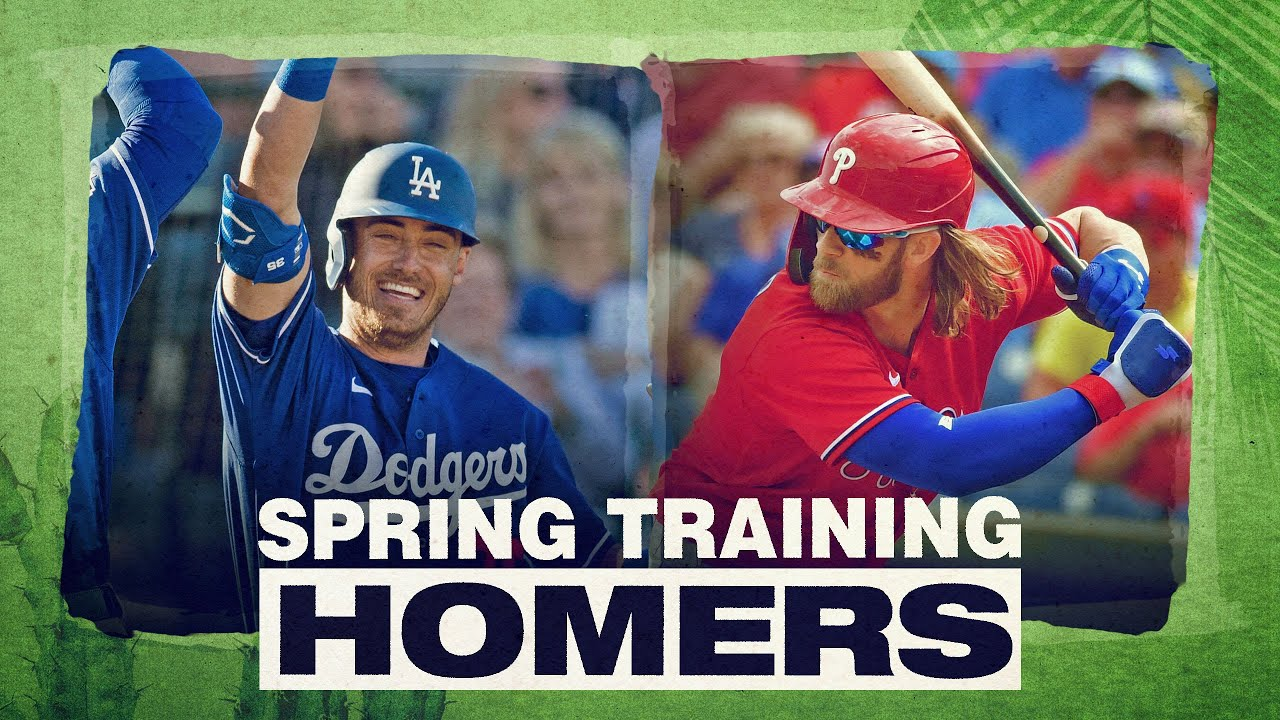 2020 Spring Training Home Runs (Pt. 2) | Mike Trout, Cody Bellinger, Bryce Harper and more!