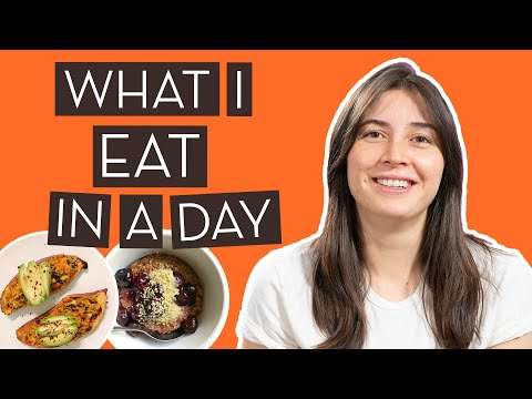What I Eat In a Day on a Whole-Foods, Plant-Based Diet}