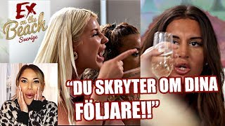 DET SPÅRAR UNDER SANNING ELLER PADDAN! | REAGERAR PÅ EX ON THE BEACH AVSNITT 8 *SPOILER*