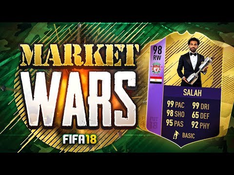 INSANE FIFA 18 POTY SALAH MARKET WARS!!!