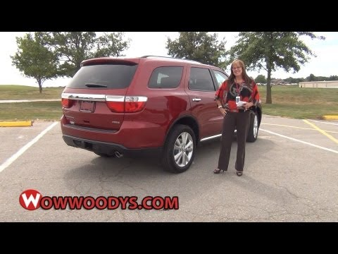 2013 Dodge Durango Review| Video Walkaround| Used trucks and cars for sale at WowWoodys