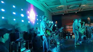 The Brass Munkeys at New World Manila Bay's 15th year Anniversary