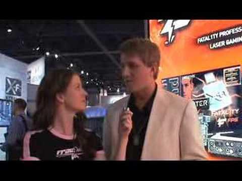 Frag Dolls - CES 2007 - Fatal1ty Interview