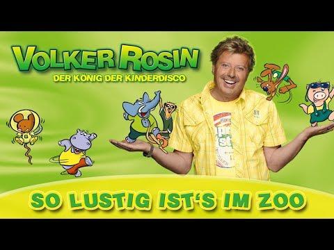 Volker Rosin - So lustig ists im Zoo   Kinderlieder
