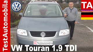 VW Touran 1.9 TDI 2004 - TEST