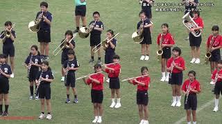 2018.08.10 熊本小学校ドリームチーム/第45回くまもとマーチングフェスティバル/4K撮影