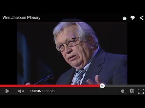 Wes Jackson's plenary address for SEIZING AN ALTERNATIVE.