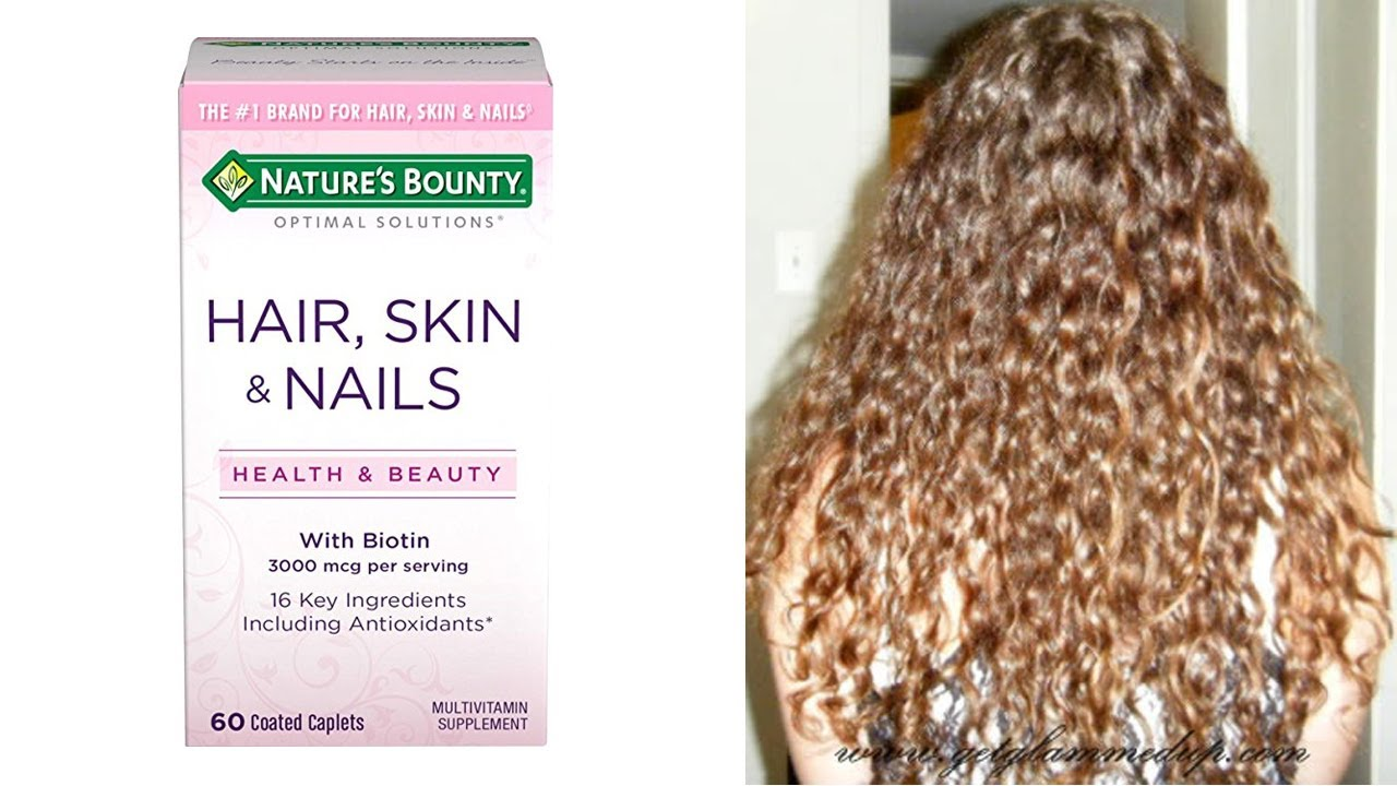 Review: Nature\'s Bounty Hair Skin & Nails - YouTube