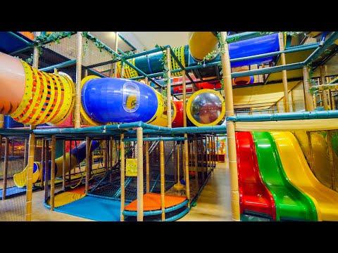 Indoor Playground Fun for Kids at Busfabriken Soft Play Center