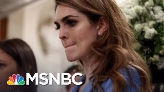 Can You Believe This White House? | MTP Daily | MSNBC
