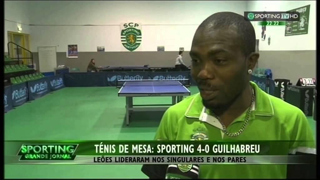 Ténis de Mesa :: 18J :: Sporting - 4 x Guilhabreu - 0 de 2014/2015