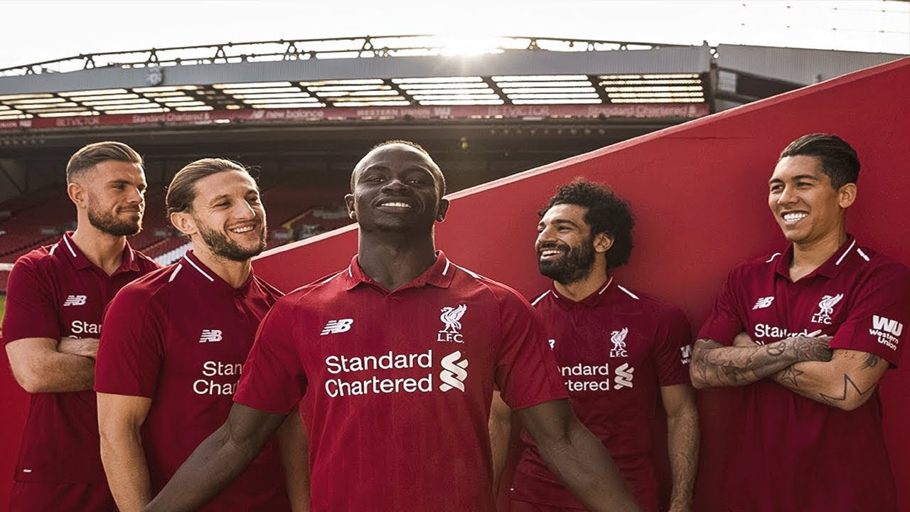 345747256 2018 19 LIVERPOOL HOME KIT   AWAY + THIRD KIT REVEALED!!