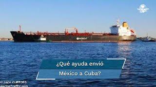 La localización geosatelital ubica ya al buque cerca de la isla, la carga desembarcará este lunes a las 18:00