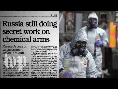 How the world learned about Russia's secret, deadly nerve agent