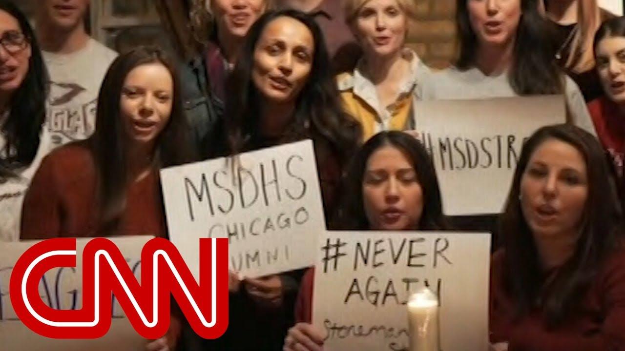Alumni to shooting survivors: We are with you - Dauer: 6 Minuten, 33 Sekunden