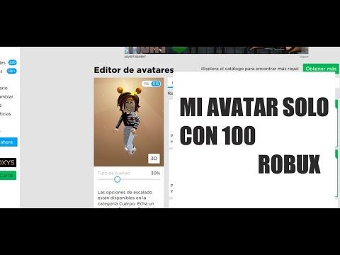 CREO MI OUTFIT SOLO CON 100 ROBUX // ROBLOX