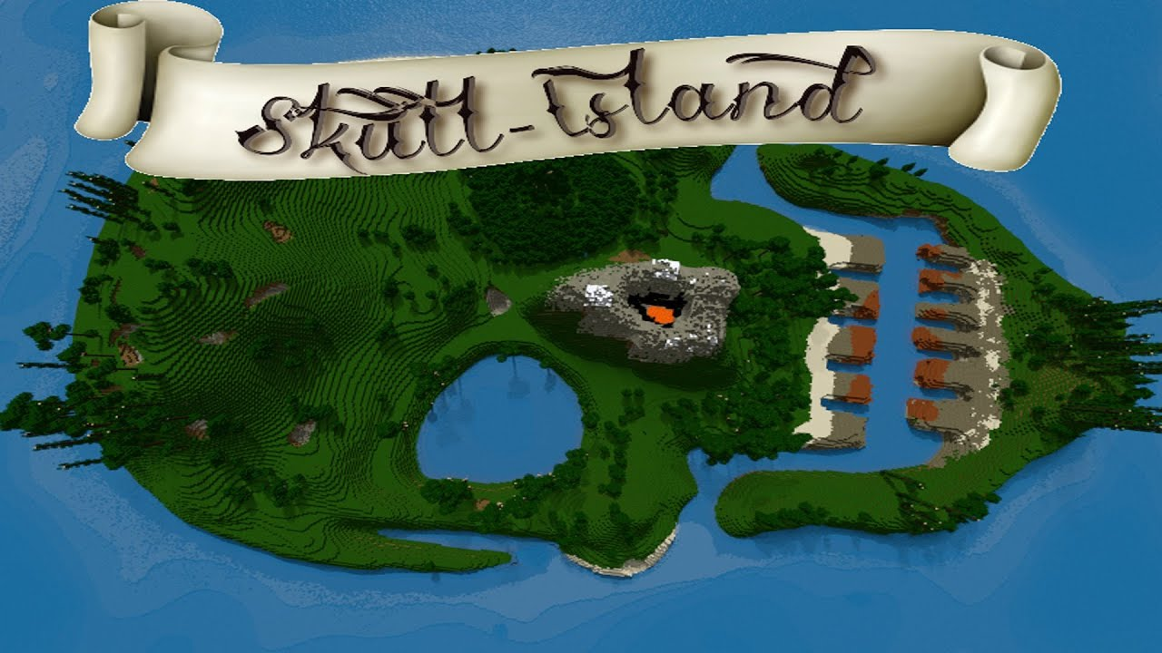 Minecraft Survival Island Map