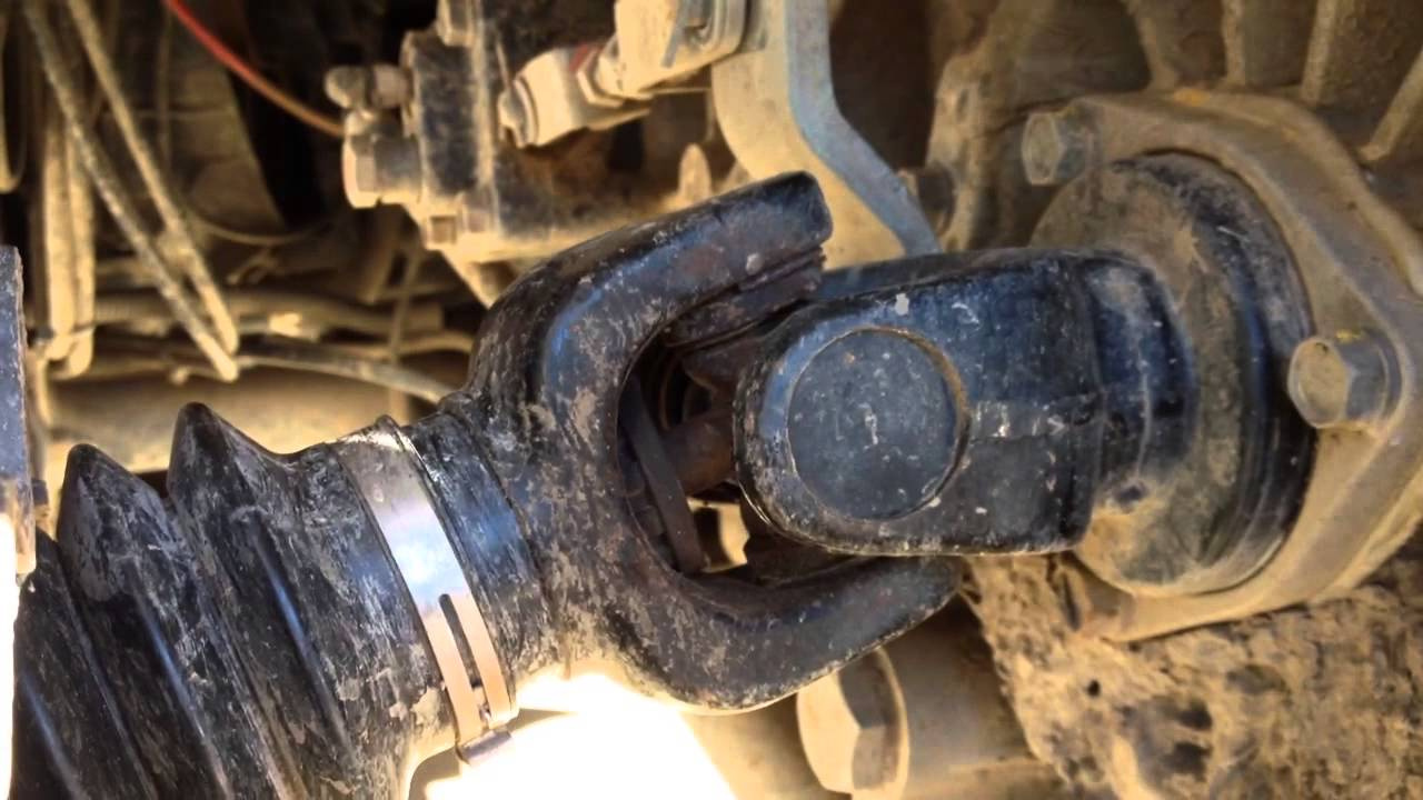 RTV900 rear axles: Checking the ujoints  YouTube