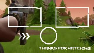 Free fortnite outro template (like and subscribe!)