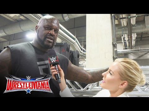 Shaq issues a challenge to Big Show: WrestleMania 32 Exclusive, April 3, 2016