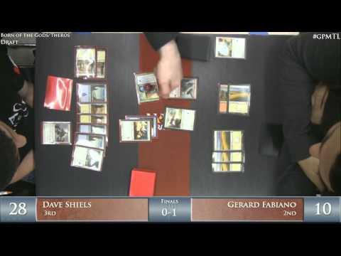 Grand Prix Montreal 2014 Finals: Dave Shiels vs. Gerard Fabiano (THS/BNG Draft)