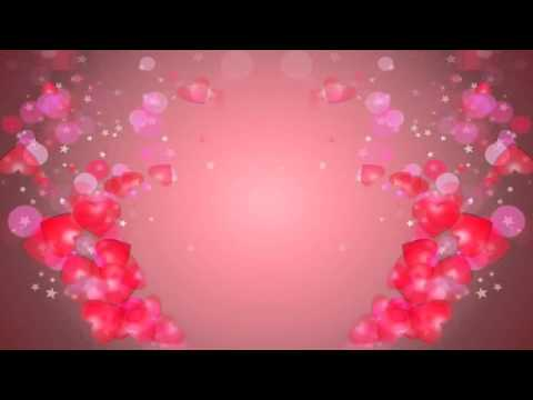 Hearts  Free animated background footage