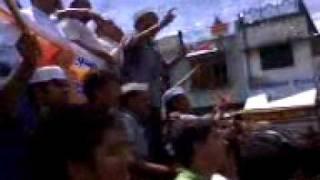Kichha Udham singh nagar anna hazare ke samarthan mein yuva varg