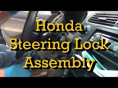 Honda Ignition Key Won't Turn: Steering Lock Assembly Replacement and Immobilizer Programming