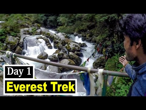 TREKKING IN NEPAL HIMALAYAS - EVEREST BASE CAMP TREKKING - DAY 1 | KATHMANDU TO NAMCHE BAZZAR