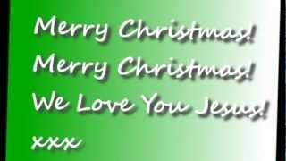 HAPPY BIRTHDAY JESUS, Christian Christmas music video, Christian Christmas song 2015.