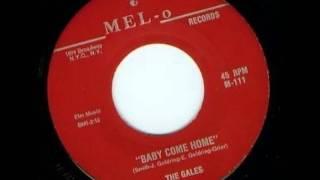 GALES - AKA Marvels AKA Senators - GUIDING ANGEL / Baby Come Home - MEL-O 111 / 113 -1958