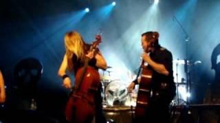 Apocalyptica feat. Tipe Johnson - I'm not Jesus - Stodoła 16.04.2009
