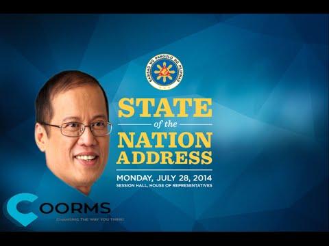 2014 Pres Benigno Aquino's 5th State of The Nation Address