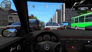City Car Driving 1.5.2 - Mercedes-Benz W210 E420 Sedan + Download [link] Fast Driving