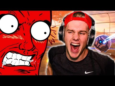 MAKING YOUR FRIEND RAGE IN ROCKET LEAGUE thumbnail