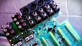 Reparación de consola de audio