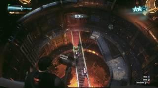 BATMAN™: ARKHAM KNIGHT Waste Disposal Predator Challenge Robin Gameplay