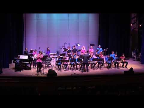 Columbine Middle School Jazz Band 2019 Final Performance 05152019