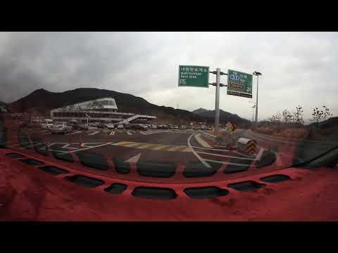 [nikon keymission360]서울-양양고속도로 동홍천IC-내린천휴게소구간 드라이브영상