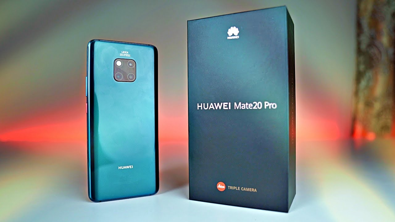 Huawei Mate 20 Pro Emerald Green Unboxing First Look Youtube