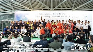 International Forklift and Pallet Building Competition 2018