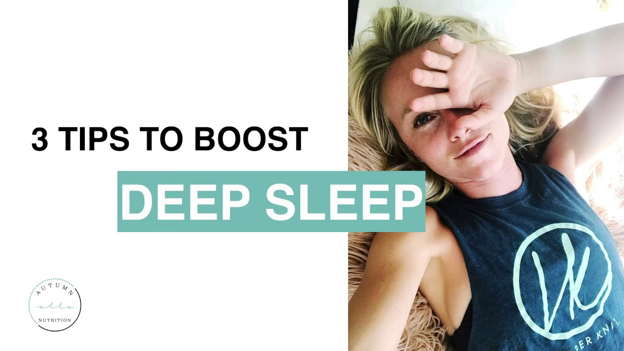 3 SIMPLE TIPS TO GET BETTER SLEEP