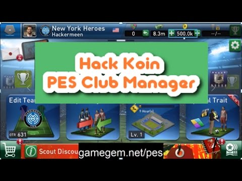 Pes club manager hack coin apk | PES Club Manager Hack  2019
