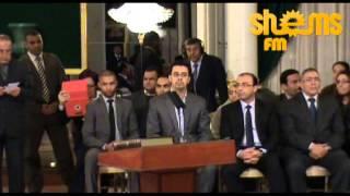 حكومة العريض تؤدي اليمين الدستورية امام رئيس