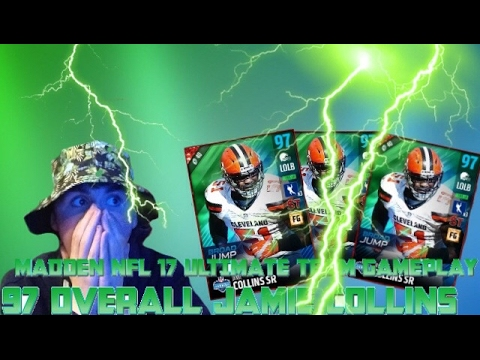 MADDEN ULTIMATE TEAM GAMEPLAY 97 OVERALL JAMIE COLLINS