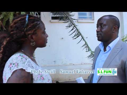 Head of S.L.B.C Valcarcel interviewed by Phebe Swill