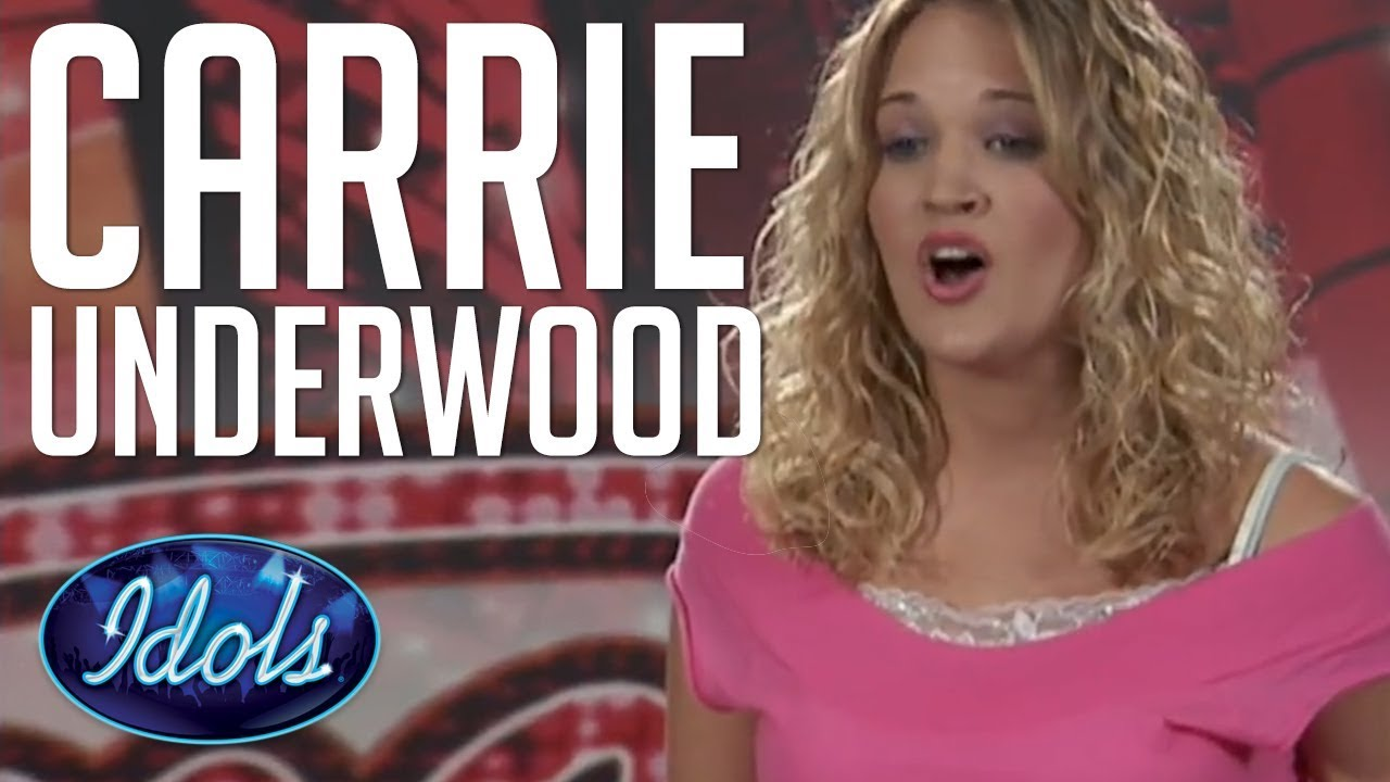 Carrie Underwood First Audition On American Idol Singing I Can T