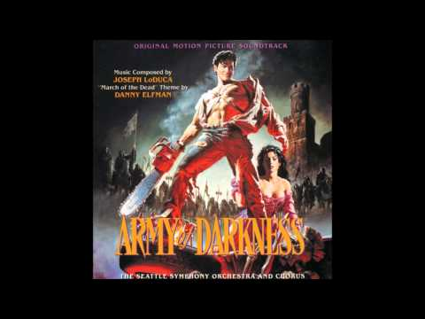 Joseph LoDuca - Building The Deathcoaster (Army Of Darkness (Evil Dead III) OST)