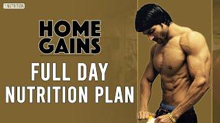 Full Day DIET PLAN - HOME GAINS by Guru Mann